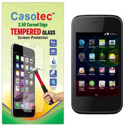 Casotec 2610914 Tempered Glass for Micromax Bolt D200