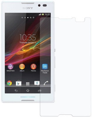 Smilefone Tempered Glass Guard for Sony Xperia C3