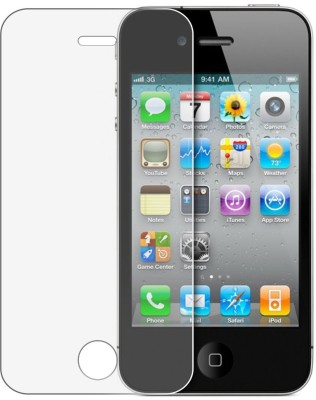 Ginni Marketing Tempered Glass Guard for iPhone 4/4s