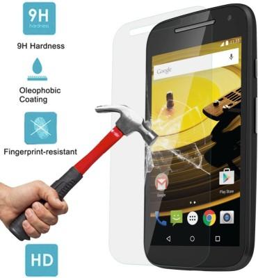 Adiva Ubon 9H 37 Tempered Glass for Motorola Moto E (2nd gen)