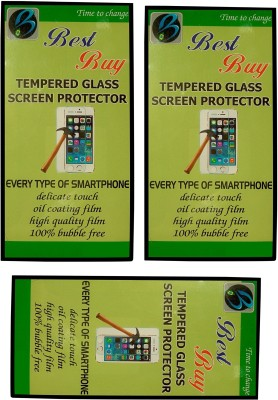 Best Buy AF06 Perfect Fit Hd Clear 9H 2.5D Curved Pack Of 3 Tempered Glass for Xiaomi Mi4