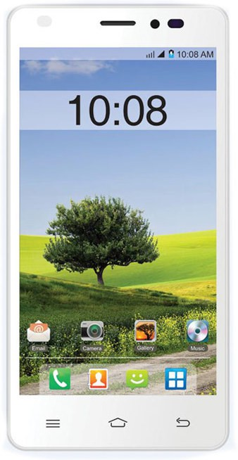 Intex Intex Aqua Life 2 (White, Orange, 8 GB)(1 GB RAM)