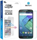 Case World Tempered Glass Guard for Moto...