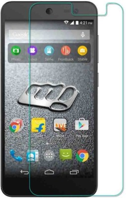 Rudra Traders RUDR.94 Tempered Glass for Micromax Canvas Nitro 4G E455