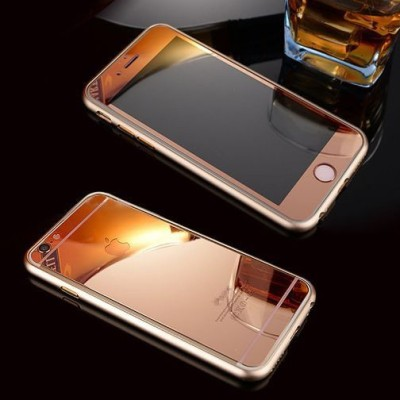 GG ENTERPRISES 6 6s Rose Gold Tempered Glass for IPHONE 6 6S