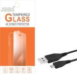 Johra Tempered Glass Guard for Lava V5