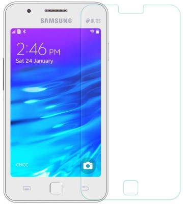 Balaji Shoppers BS-18 Tempered Glass for Samsung Z1 Screen Protractor
