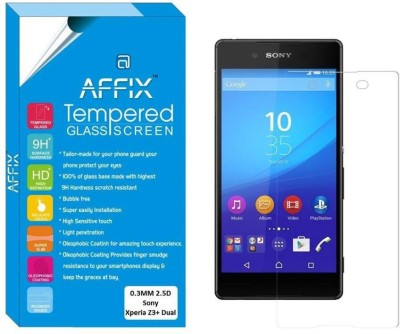 Affix Tempered Glass Guard for Sony Xperia Z3+ Dual