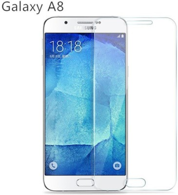 Fashion And Protection Tempered Glass Guard for Samsung Galaxy A8
