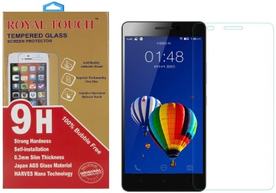 Royal Touch 100% Bubble Free Rt26 Tempered Glass for Lenovo A1000