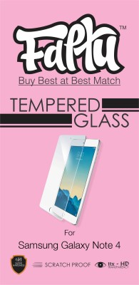 Faltu TGNote4 Tempered Glass for Samsung Galaxy Note 4