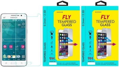 Fly SM-G530 Premium HD Pack of 2 Tempered Glass for Samsung Galaxy Grand Prime G530