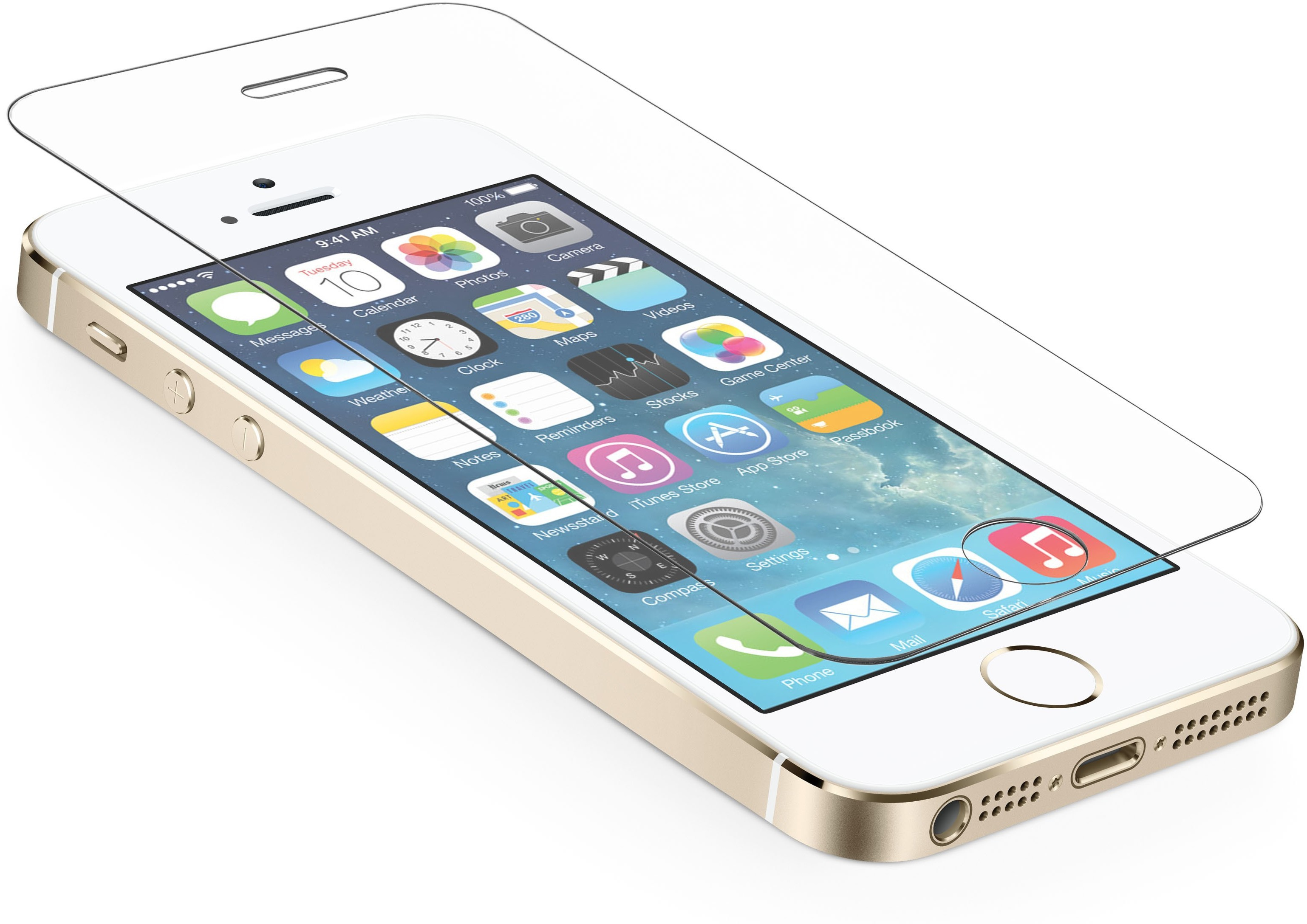 Stubborn Tg17 Tempered Glass for Apple iphone5