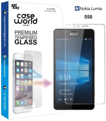Case World TGNL550 Tempered Glass for Nokia Lumia 550