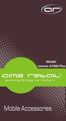 AIMS Retail TG-LA7000P Tempered Glass for Lenovo A7000 Plus