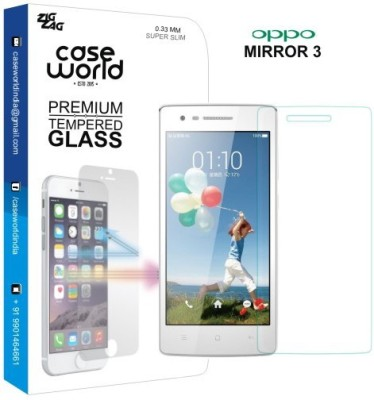 Case World TGM3 Tempered Glass for Oppo Mirror 3