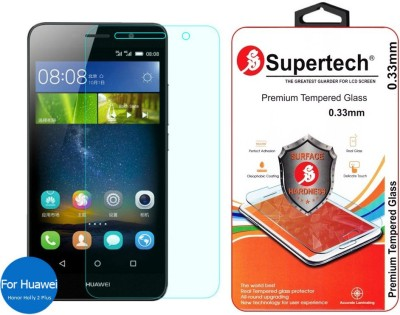 Supertech 9H Super Strong Tempered Glass for Huawei Honor Holly 2 Plus