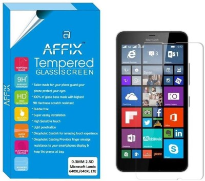 Affix Tempered Glass Guard for Microsoft Lumia 640XL/640XL LTE (5.7