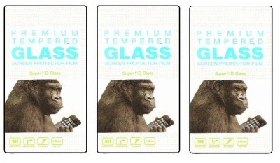 MAXLIVE Tempered 03 PACK OF 3  For Micromax Canvas HD A116 Tempered Glass for Micromax Canvas HD A116 available at Flipkart for Rs.333