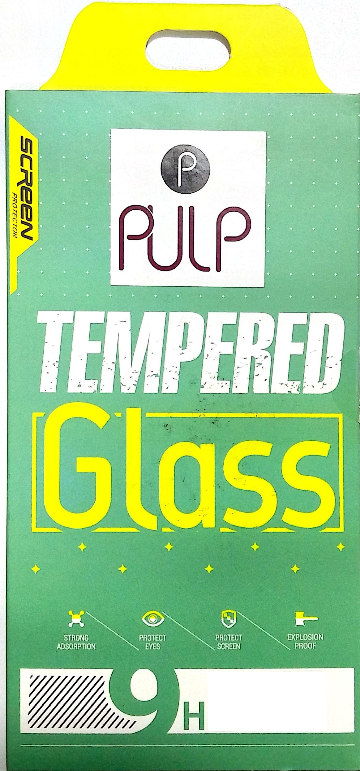 Pulp Tempered Glass Guard for I pad Mini