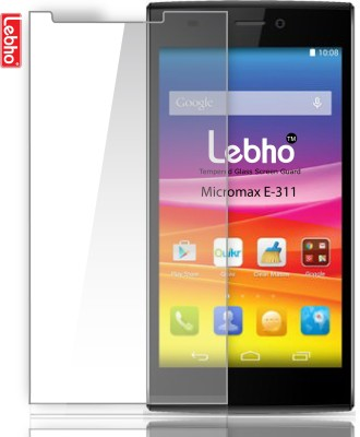 Lebho LB311 Tempered Glass for Micromax E311