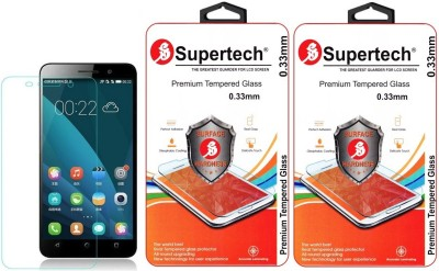 Supertech CHE1-L04 9H Premium HD Clear Screen Protector Pack Of 2 Tempered Glass for Huawei Honor 4X