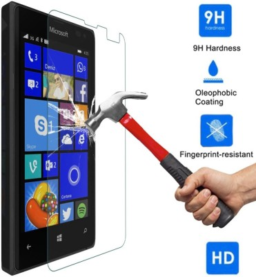 Bidas N435-Best Quality With Hd Clearance Tempered Glass Tempered Glass for Microsoft Lumia 435