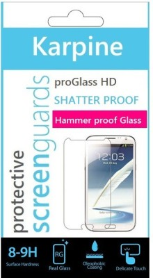 Karpine Tempered Glass Guard for Motorola Moto G (3rd Gen)