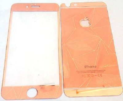 Ac Aditi Creations Tempered Glass Guard for apple iphne 6/6s/6g 3d front&back screen protector