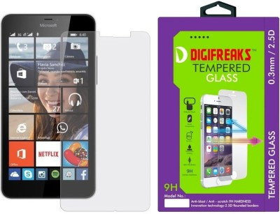 Digifreaks LM-640XL Premium HD Screen Protector Tempered Glass for Microsoft Lumia 640XL