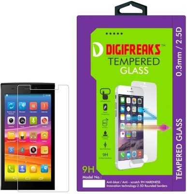 Digifreaks E-311 Oil Coated Screen Protector Tempered Glass for Micromax Canvas Nitro 2 E311 (5