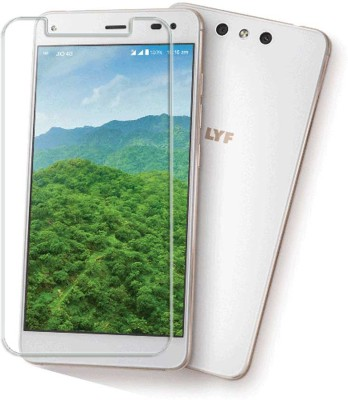 Vibhar Tempered Glass Guard for Reliance Lyf Earth 1
