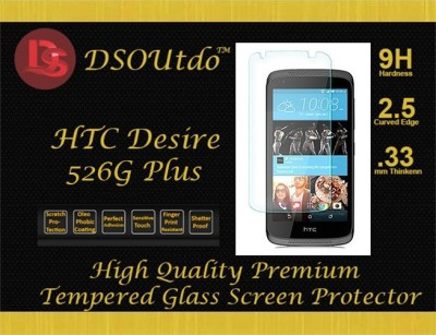 Outdo High Quality 9H, Anti scratch, 2.5D Round Edge, 0.33mm Premium Tempered Glass for HTC One M8