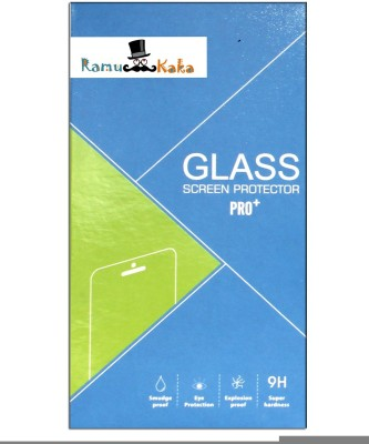RamuKaka RKCTGLa_5(Pack of 1) Tempered Glass for Lava Iris Atom 2X