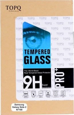 TopQ Tempered Glass Guard for Samsung Galaxy Note 2 N7100