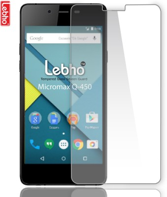 Lebho LBQ450 Tempered Glass for Micromax Canvas Silver 5 Q450