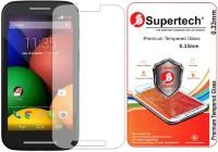 Supertech Tempered Glass Guard for Motorola Moto E 1st Generation
