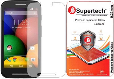 Supertech MOTO-E1 Tempered Glass for Motorola Moto E 1st Generation