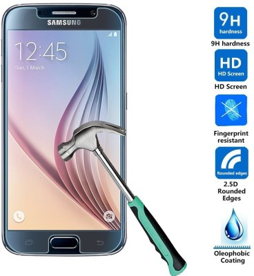 Bidas GS6-Best Quality With HD Clearance Tempered Glass for Samsung Galaxy S6