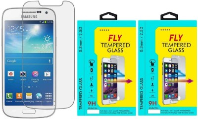 Fly SM-I8262 Oil Coated Pack of 2 Tempered Glass for Samsung Galaxy Core Duos I8262