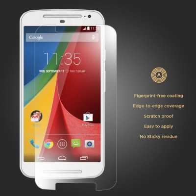 4brothers MOTO G3 Tempered Glass for Motorola 3rd Gern, Hi Quality Screen Protector