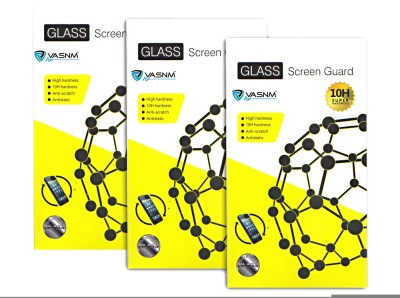 Vasnm TGPa_67(Pack of 3) Tempered Glass for Panasonic P55 Novo