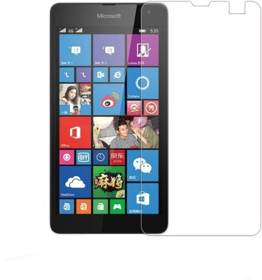 QWERTY Tempered Glass Guard for Microsoft Lumia 535 Dual SIM