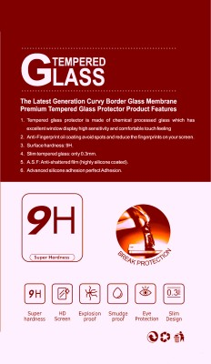 Bristle Original Look Charlie TP342 Tempered Glass for Lava Iris X1 Atom S