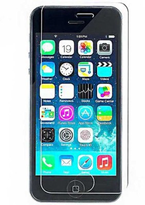 ST Zone Apple I Phone 5 Tempered Glass for Apple iPhone 5, 5S