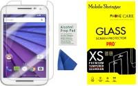 Mobile Shringar Tempered Glass Guard for Motorola Moto G (3rd Gen)