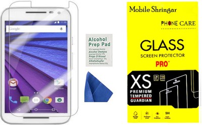 Mobile Shringar 2.5d Tempered Glass for Motorola Moto G (3rd Gen)