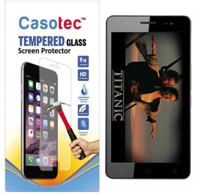Casotec 2610721 Tempered Glass for Micromax Canvas Juice 3 Plus Q394