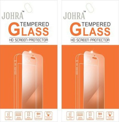 Johra T920041 Pack of 2 Tempered Glass for Karbonn Titanium Mach Two S360