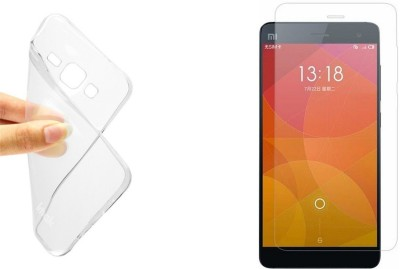 Big Zee BZ-07 Soft Silicon Totu Cover & Tempered Glass for Xiaomi Redmi Note 3